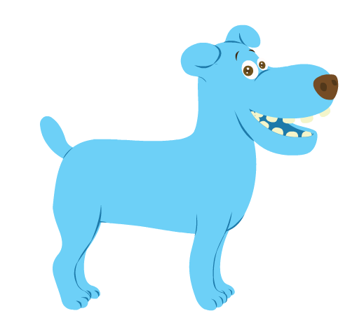 blue_dog_smiling